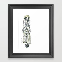 Harlot Framed Art Print