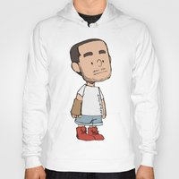 liam payne Hoodies featuring Schulz Liam by Ashley R. Guillory