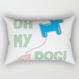 Oh my dog! Rectangular Pillow