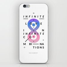 Polyamory iPhone & iPod Skin