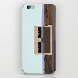 Marfa Installation: A digital illustration iPhone Skin