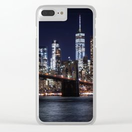 The Lights of New York City Clear iPhone Case