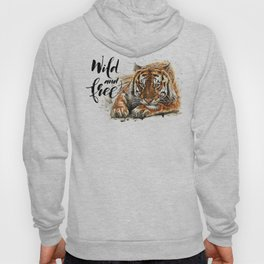 Tiger Wild and Free Hoody