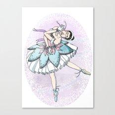 Snow Ballerina  Canvas Print