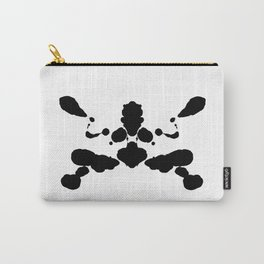 abstract shape psychological test board Rorschach type Carry-All Pouch