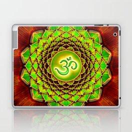 Om Lotus - Green Spirit Laptop & iPad Skin