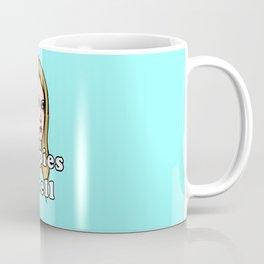 Hippies Smell (Teal Version) Coffee Mug