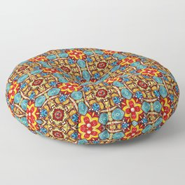 Ceramic Celebration Pattern Floor Pillow