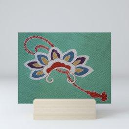 Japanese Kiku Flower (chrysanthemum) Mini Art Print