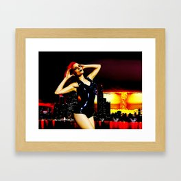 Intercontinental Framed Art Print