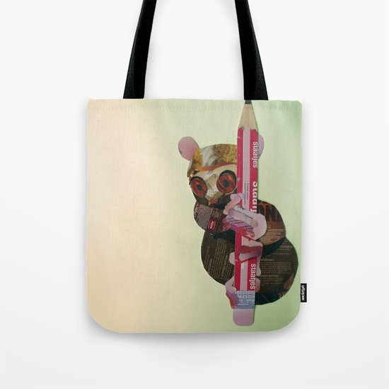 Siau Island tarsier (Tarsius tumpara) Tote Bag