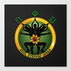 OPB Soul Steppin' Divas Logo Canvas Print