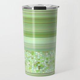 GRAPHIC POP - pastell green Travel Mug