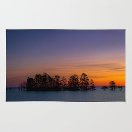 Lake Mattamuskeet Sunrise Rug