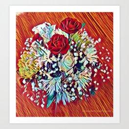 Brighten Your Day Flowers Art Print