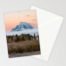 Autumn Sunrise in the Tetons Stationery Cards