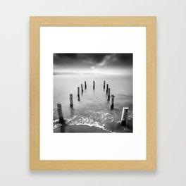 Long Silence Framed Art Print