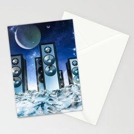 Sonic Monoliths Stationery Cards
