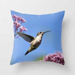 Modern Beauty Throw Pillow