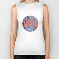 geology Biker Tanks featuring Terralite by Eileen Holland