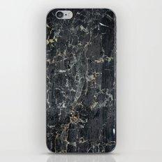 Old black marBLe iPhone & iPod Skin