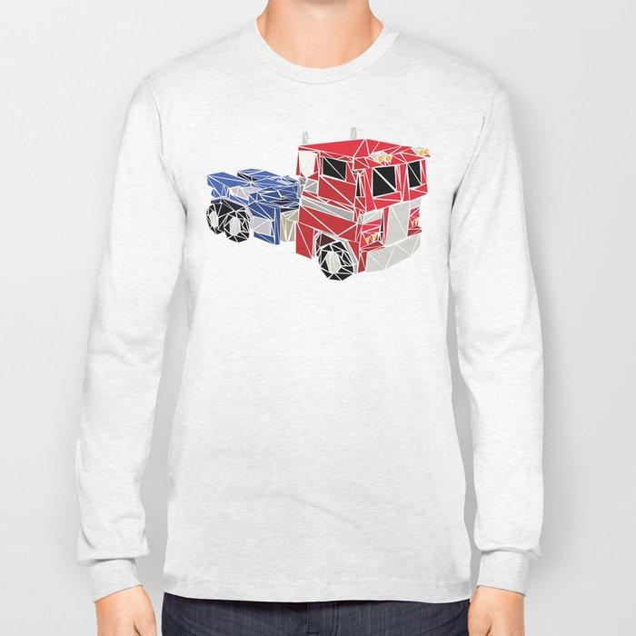 The Optimus Prime Long Sleeve T-shirt