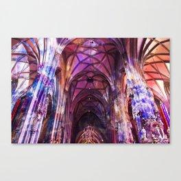 Technicolor Canvas Print