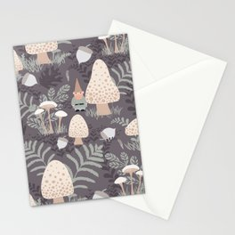 Forest Gnomes Stationery Cards