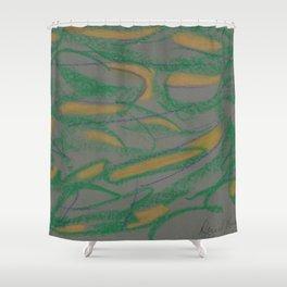 Designer Collection Grey 34 Shower Curtain