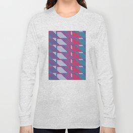 Abstract Drama #society6 #violet #pattern Long Sleeve T-shirt