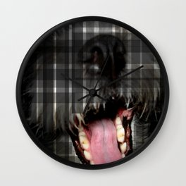 dog 2 Wall Clock