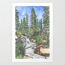 South Boulder Creek Art Print