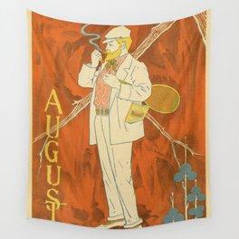 August 1895 Lippincott's magazine Wall Tapestry