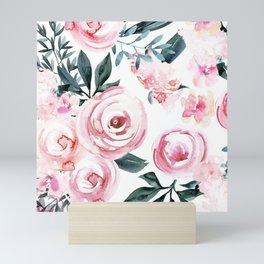 Watercolor Rose Mini Art Print