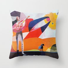 He played for the Phoenix and he played for the dog Throw Pillow