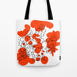 Orange Soup Tote Bag
