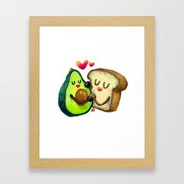 Avocado Toast Framed Art Print