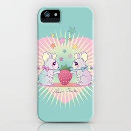 cute mice iPhone Case