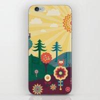sunshine iPhone & iPod Skins featuring Sunshine by Kakel