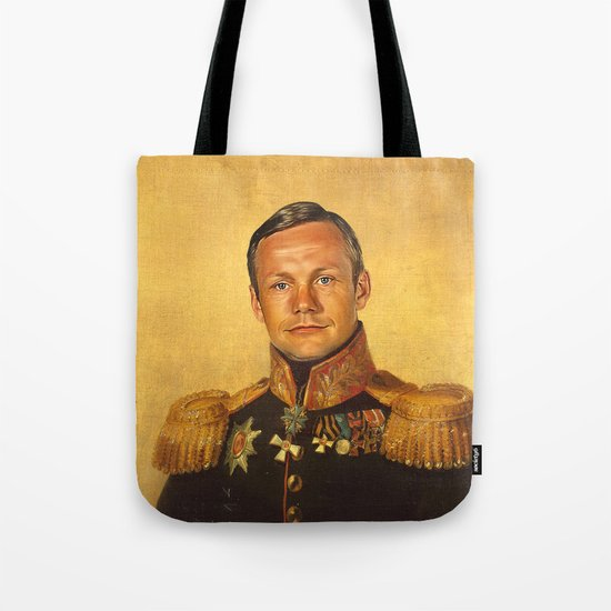 Neil Armstrong - replaceface Tote Bag