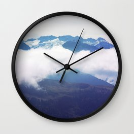 French Pyrenees Wall Clock