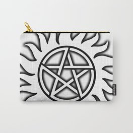 Anti Possession Sigil Black Glow Transp Carry-All Pouch