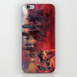 Wolves of Future Past landscape iPhone Skin