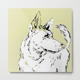Howl Along Metal Print