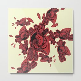 Gipsy heart Metal Print