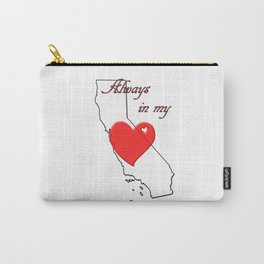 Always in My Heart CA Carry-All Pouch