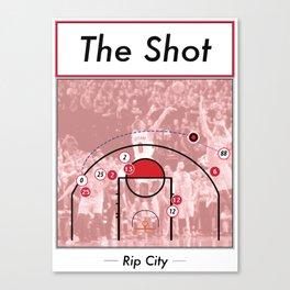 The Shot Series - Damian Lillard Canvas Print