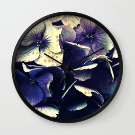 Floral theme [Vintage] Wall Clock