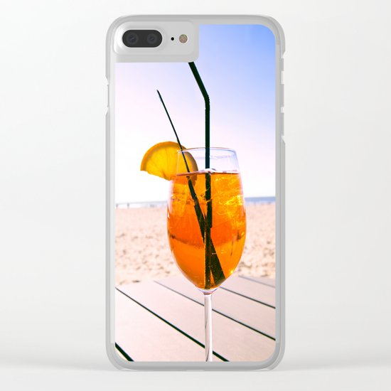 Good Times Clear iPhone Case
