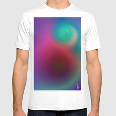 Electric II Mens Fitted Tee White MEDIUM